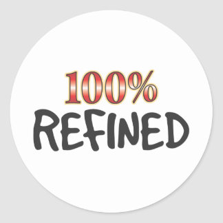 Refined 100 Percent Stickers