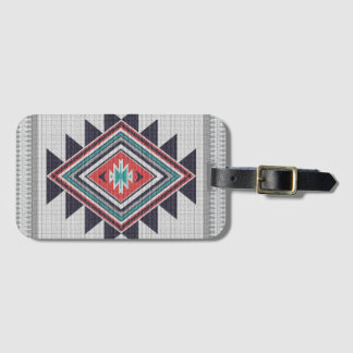Refined Southwest Luggage Tag