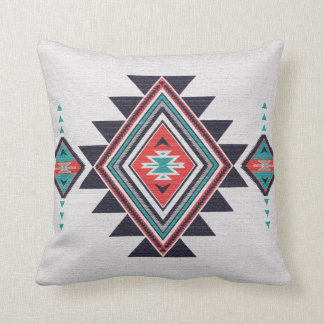 Refined Southwest Throw Pillow