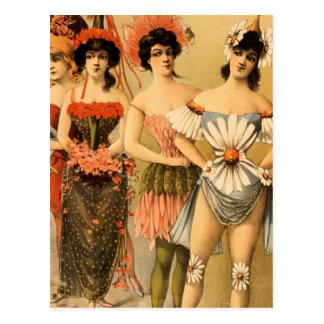 Refined Vaudeville Postcard