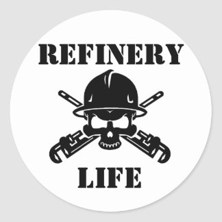 Refinery Life Sticker