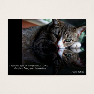 Reflect (Cat) Business or Calling Cards