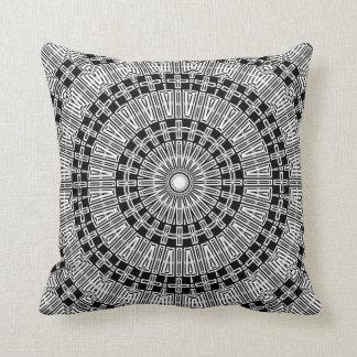 Reflect Mandala Throw Pillow
