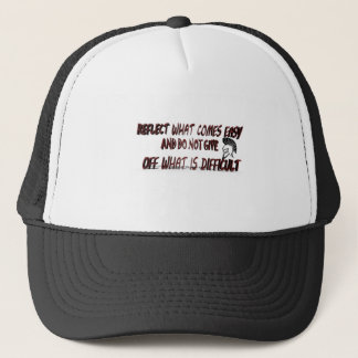 REFLECT WHAT COMES TRUCKER HAT