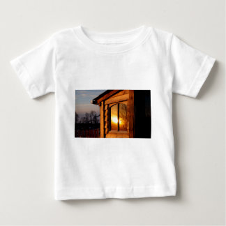 Reflected Sunset Baby T-Shirt