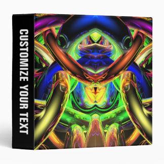 Reflecting Bands of Color Vinyl Binders