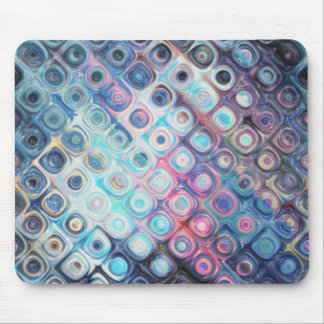 Reflecting Circles of Color Mouse Pad