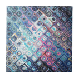 Reflecting Circles of Color Tile