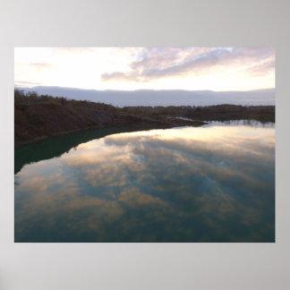 Reflecting Lake Poster