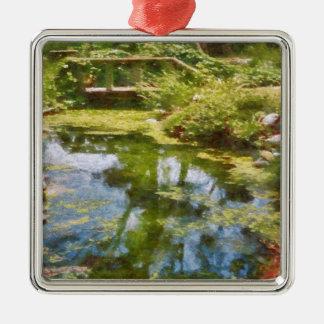 Reflecting On Life Metal Ornament