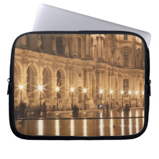 Reflecting pool at the Louvre, Paris, France Laptop Computer Sleeve