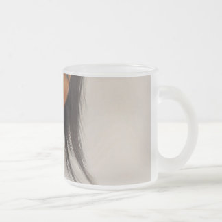 Reflection 10 Oz Frosted Glass Coffee Mug