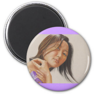 Reflection 2 Inch Round Magnet