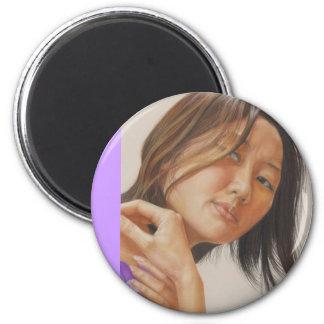 Reflection 2 Inch Round Magnet