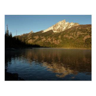 Reflection at Jenny Lake Grand Teton National Park Postcard