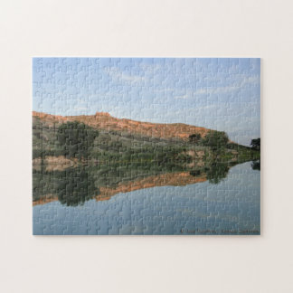 REFLECTION at Lake Scott State Park Jigsaw Puzzles