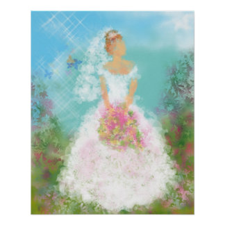 Reflection Bride Poster
