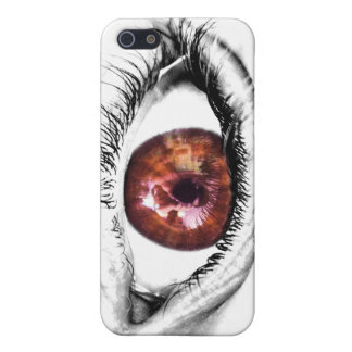 Reflection Brown Eye Mobile Cover iPhone 5/5S Cover