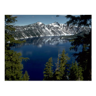 Reflection, Crater Lake, Oregon, U.S.A. Postcard