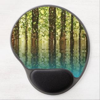 Reflection II - Original alcohol ink design Gel Mouse Pad