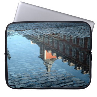 Reflection in a pool of the Greater Place of Computer Sleeves