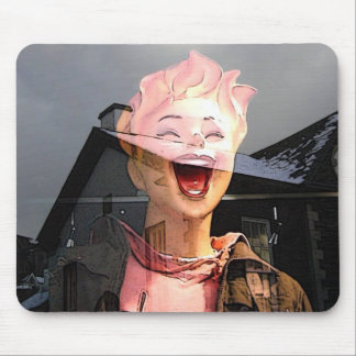 reflection mouse pad