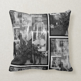Reflection of Marilyn Throw Pillow