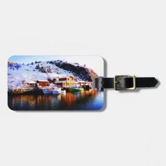Reflection On Quidi Vidi Lake Luggage Tag