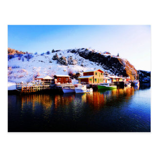 Reflection On Quidi Vidi Lake Postcard