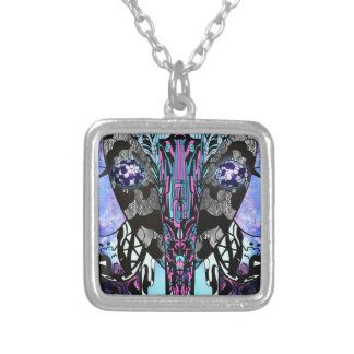 Reflection Silver Plated Necklace