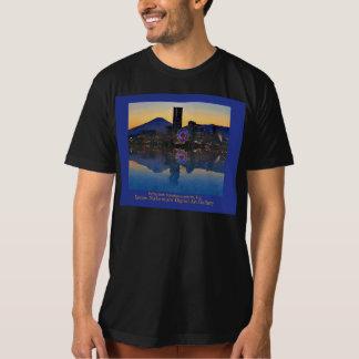 Reflection Yokohama with Mt. Fuji T-Shirt
