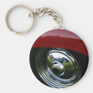 Reflections Basic Round Button Keychain