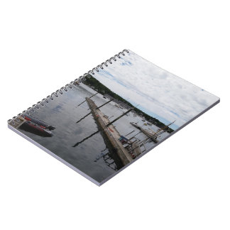 """""""Reflections"""" Boothbay Harbour MaineSpiral Notebook"""
