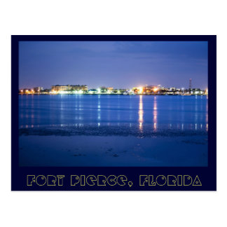Reflections from Fort Pierce, Florida Postcard