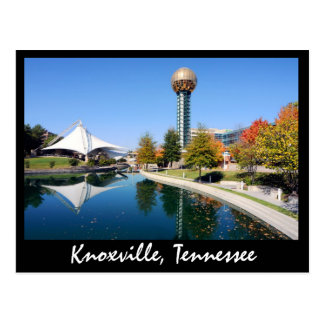 Reflections from the Sunsphere in the fall Postcard