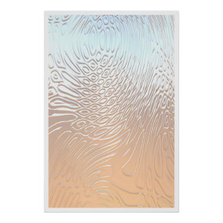Reflections in Silver Poster