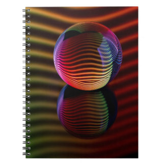 Reflections in the crystal ball notebook