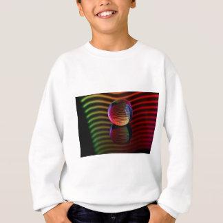 Reflections in the crystal ball sweatshirt