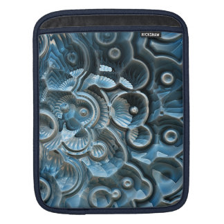 Reflections of A Fractal Fossil Sleeves For iPads