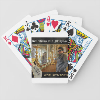 Reflections of a Madman Bicycle Playing Cards