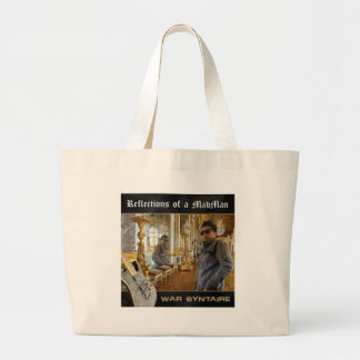 Reflections of a Madman Large Tote Bag