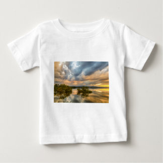 Reflections Of A Thunderstorm Baby T-Shirt