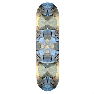 Reflections of Blue And Gold Custom Skateboard