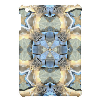 Reflections of Blue And Gold iPad Mini Covers