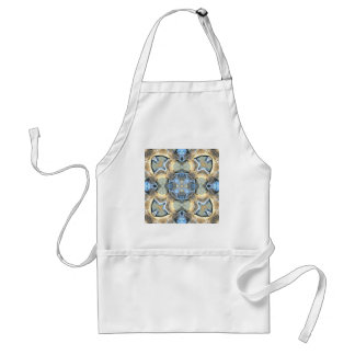Reflections of Blue And Gold Standard Apron