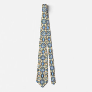 Reflections of Blue And Gold Tie