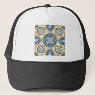 Reflections of Blue And Gold Trucker Hat