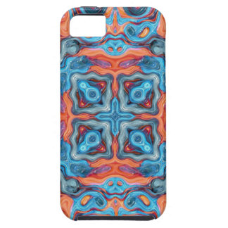 Reflections of Blue And Orange iPhone 5 Cover