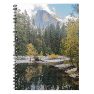 Reflections Of Half Dome Note Books