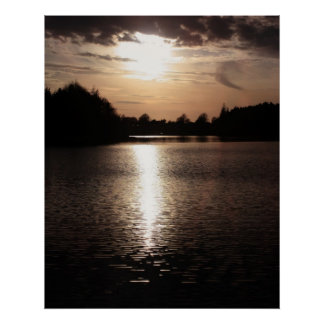 Reflections of Life Stunning Fine Art Landscape Poster